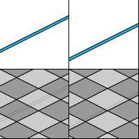 タイルカーペットならカーペットの中央に配線