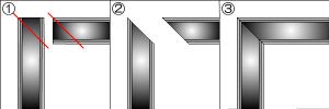 加工例1 マガリ ベース(底)の加工