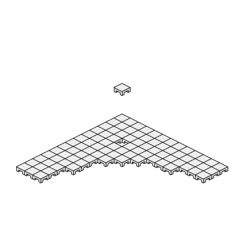 置敷式OAフロア(簡易二重床タイプ その2)