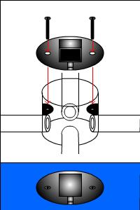 配管のフタの種類(アップコンセントタイプ その1)