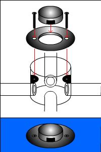 配管のフタの種類(アップコンセントタイプ その2)